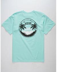 Vans - Mini Dual Palm Ii Mens T-shirt - Lyst