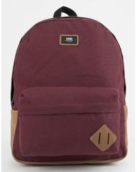 8a6826a3e7 Lyst - Vans Old Skool Ii Backpack Delft-colorblock in Blue