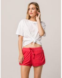 Others Follow - Weekend Red Womens Dolphin Shorts - Lyst
