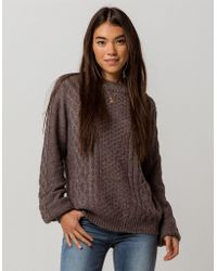 Volcom - Hellooo Womens Sweater - Lyst