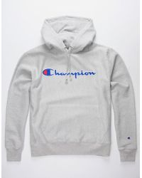 106434b86172 Lyst - Men s Champion Hoodies On Sale