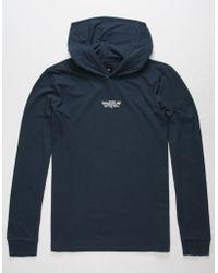 Vans - Van Doren Hooded Knit (asphalt Heather) Men's Clothing - Lyst