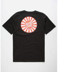 Santa Cruz - Rising Dot Mens T-shirt - Lyst