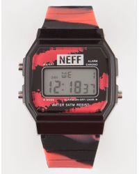 Neff - Flava Tiger Blood Digital Watch - Lyst