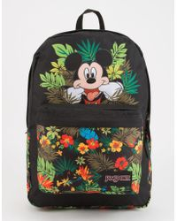 Jansport - X Disney Tropical Mickey High Stakes Backpack - Lyst