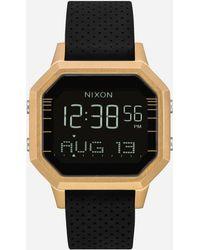 Nixon | Siren Ss Gold & Black Watch | Lyst