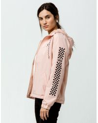 Vans - Kastle Ii Funday Womens Windbreaker Jacket - Lyst