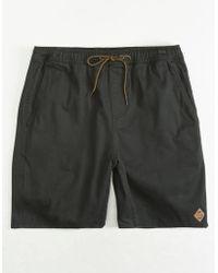 HippyTree - Crag Black Mens Shorts - Lyst