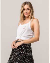 Volcom - Into Tomorrow Womens Tank Top - Lyst