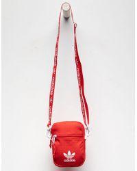 adidas Originals Shoulder Festival Red Crossbody Bag