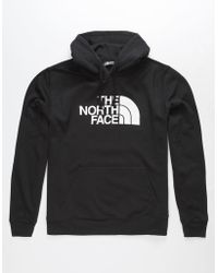 The North Face - Half Dome Black Mens Hoodie - Lyst