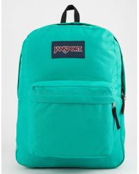 Jansport - Superbreak Varsity Green Backpack - Lyst