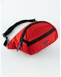 adidas - Originals National Red Fanny Pack - Lyst