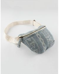 Billabong - Denim Fanny Pack - Lyst