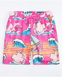 Pink Dolphin - Summer Splash Mens Swim Trunks - Lyst