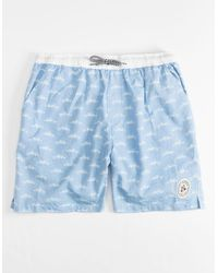 Imperial Motion Seeker Light Blue Mens Volley Shorts
