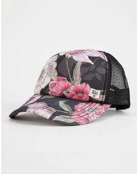 70a8a80ca458f Billabong - Heritage Mashup Womens Trucker Hat - Lyst