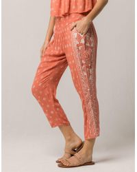 Rip Curl - South Wind Womens Border Pants - Lyst