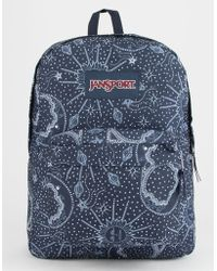 Jansport - Superbreak Star Map Backpack - Lyst