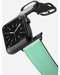Casetify - 38mm Mint And Stripes Black Apple Watch Band - Lyst