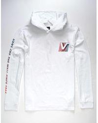 Vans - Van Doren Mens Hooded T-shirt - Lyst