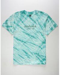 Huf - Poolside Mint Mens T-shirt - Lyst