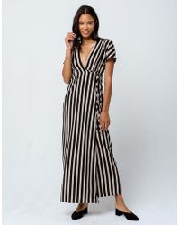 Amuse Society - Fit To Be Tied Dress (black) Women's Dress - Lyst