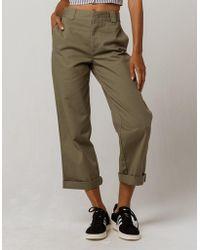 Dickies - Crop Roll Cuff Pants - Lyst