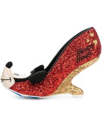 Irregular Choice | Oh Boy! Women's Court Shoes In Red | Lyst