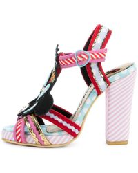 Irregular Choice | Mickey Mouse & Friends Collection Tropical Minnie Pink Heels | Lyst