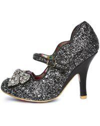 Irregular Choice - Shimmer Black Light Up High Heel - Lyst