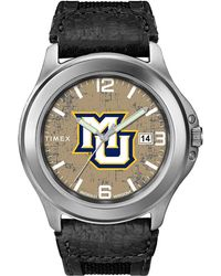 Timex Watch Old School Marquette Golden Eagles Silver-tone/black/natural