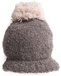 Tj Maxx - Bubbly Boucle Hat With Pom Pom - Lyst