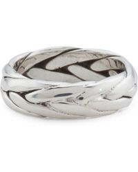 Tj Maxx - Men's Handcrafted In Mexico Sterling Silver Woven Ring - Lyst