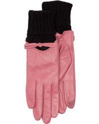 Tj Maxx - Glace Leather Gloves - Lyst