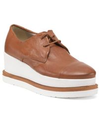 Tj Maxx - Made In Italy Leather Platform Oxfords - Lyst