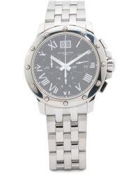 Tj Maxx - Men's Swiss Made Chronograph Tango Round Dial Bracelet Watch - Lyst