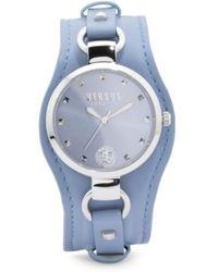 Tj Maxx - Women's Roslyn Leather Cuff Strap Watch - Lyst