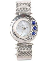 Tj Maxx   Women's Made In Israel Sterling Silver Lapis Watch   Lyst