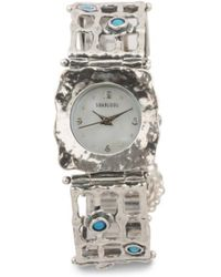 Tj Maxx - Women's Made In Israel Sterling Silver Opal Watch - Lyst