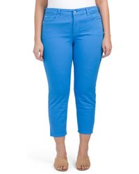 Tj Maxx - Plus Made In Usa Ira Relaxed Ankle Jeans - Lyst
