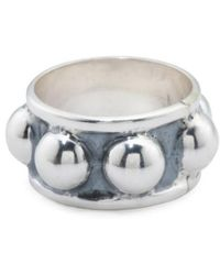 Tj Maxx - Men's Made In Mexico Sterling Silver Beaded Ring - Lyst