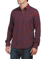 Tj Maxx - Cash Check Long Sleeve Shirt - Lyst