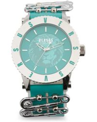 Tj Maxx - Women's Madison Studded Leather Strap Watch - Lyst