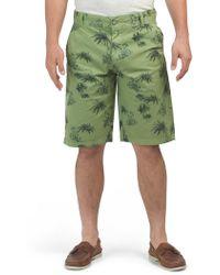 8c9976c58c adidas Originals Palm Shorts in Blue for Men - Lyst
