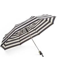 Tj Maxx - Auto Open & Close Striped Umbrella - Lyst