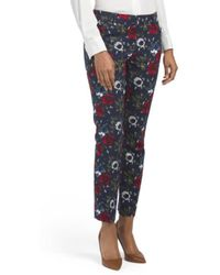 Tj Maxx - Printed Double Woven Pants - Lyst