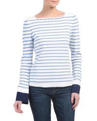 Tj Maxx - Striped Knit Top - Lyst