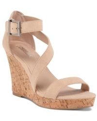 Tj Maxx - Ankle Strap Wedges - Lyst