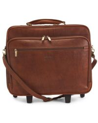 Tj Maxx - Made In Italy Square Leather Trolley - Lyst